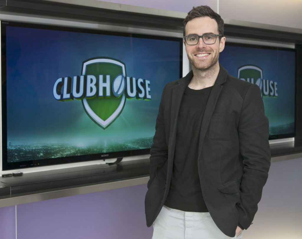 Joe Molloy announces  details of Clubhouse, a brand new rugby entertainment chat show on TV3 which will commence this Tuesday, 7th February at 10.30pm . The Clubhouse will feature legends of the game from recent times and hall of 'famers'.  Each week Joe will be joined on the couch by well-known rugby personalities who will give their own take on Ireland's progress in the Six Nations. The show will also meet guests from the world of entertainment,  business and comedy. Pic:Brian McEvoy Photography No Repro Fee